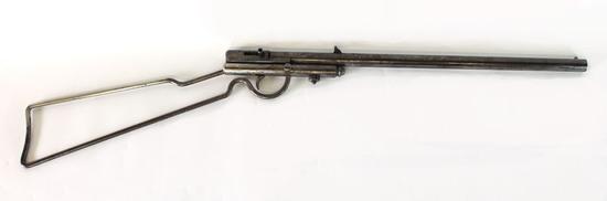 H M Quackenbush Herimer Skeleton Frame Takedown Rifle .22cal Firearm