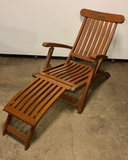 Historical Nautical R.M.S Queen Mary Deck Chair from Ocean Liner Queen Mary