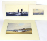 Original Mixed Media Ocean Themed Paintings