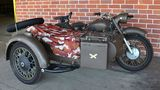 1977 DNEPR MT Russian Military Motorcycle w Sidecar
