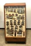 Rare Original Vintage Case Knife Store Display with All Original 65 Case Knives