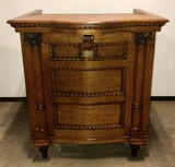 Antique Oak Podium Lectern by Wolf, Sayer, and Heller