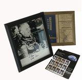 John H. Glenn Jr Autographed Photos and Ephemera Memorbelia