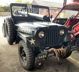 1955 Willys Motors M38A1 with Mounted M40A4 and M8C Rifles
