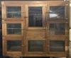 Antique Commercial Grocers 8 Door Ice Box Refrigerator