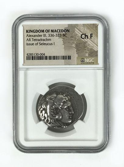 Ancient Greece, Macedonian Kingdom, Alexander the Great, AR tetradrachm, 336-323 BC