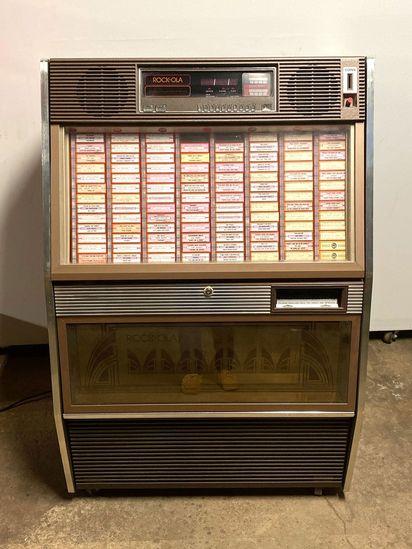ROCK-OLA Jukebox, Model 494-2, Serial 49171