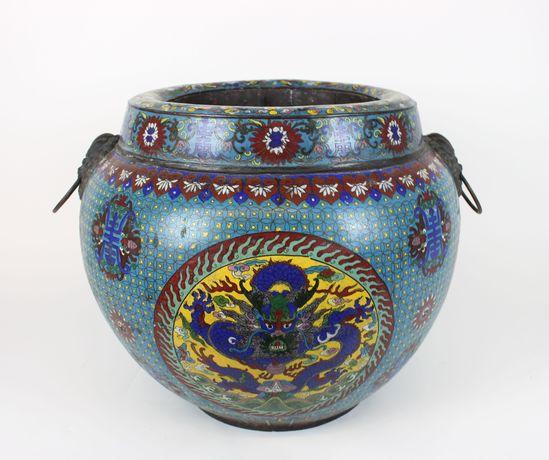 Cloissone Vase