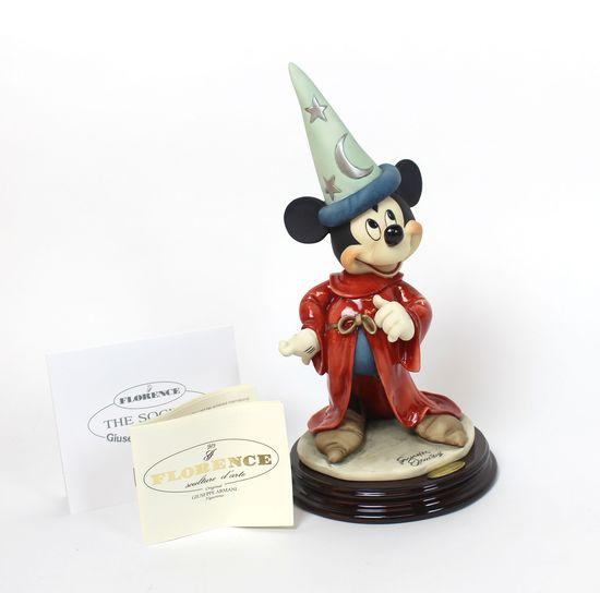 Florence Giuseppe Armani Mickey Mouse Figure