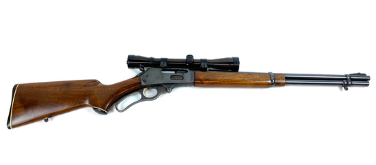 Marlin Firearms MicroGroove Barrel Lever Action Rifle Model 336-RC in 30-30 Cal With Scope
