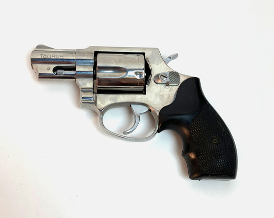 """TAURUS .38 Special Revolver with 2"""" Barrel and Rubber Grips Serial # PK29116"""