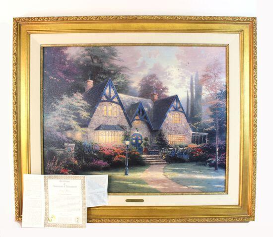 """""""Winsor Manor"""" Thomas Kinkade Art"""