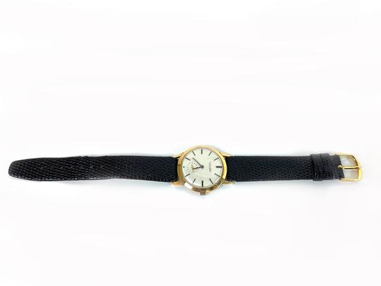 Vintage Ulysse Nardin Chronometer 14K Yellow Gold Wrist Watch