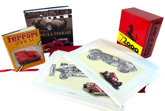 Formula Ferrari 1946-2000 Volumes, Massini Ferrari 250LM and Formula Ferrari 1949-2000 Boxed Set