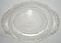 Vintage Early Pressed Glass Bread Plate / Platter