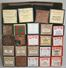 Lot of 24 Antique Piano Music Rolls