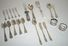 Assorted 20 pcs of Antique Sterling Flatware & Serving Pieces -  Weight Over 17 Ounces