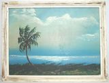Florida Highwayman Painting by Ike Knight - Vintage Landscape on board