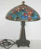 Gorgeous Quoizel Stained Glass Lamp