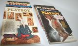 Collection Of 1975 Entire Year Playboy Magazine Collection - 12 Issues