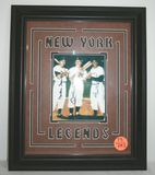 New York Legends Autographed Photo of Mickey Mantle, Duke Snider, & Willie Mays w/ COA
