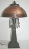 Brand New Arts & Crafts Gold Retro Quoizel Lamp Style: TF438T