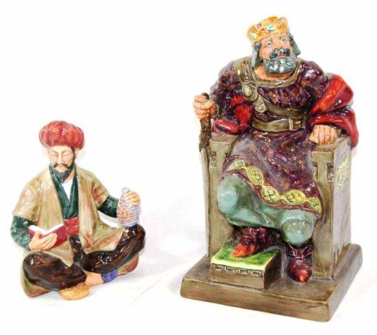 Pair of Royal Doulton Porcelain Pieces