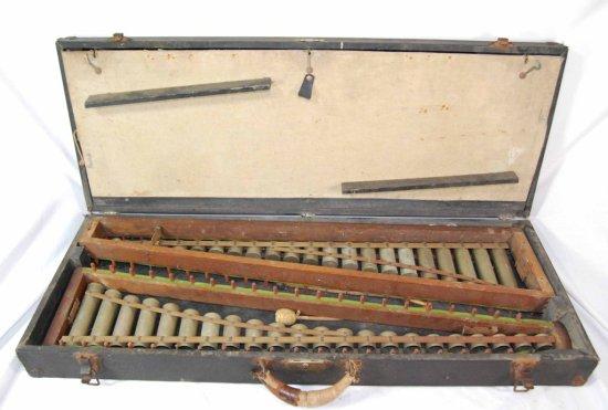 Vintage Leedy Mfg. Co. Original Cased Xylophone Musical Instrument