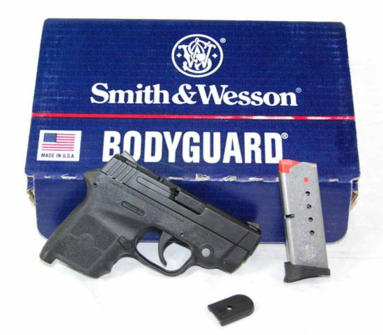 Smith & Wesson Bodyguard Pistol in 380 Caliber with Built in Laser Sights