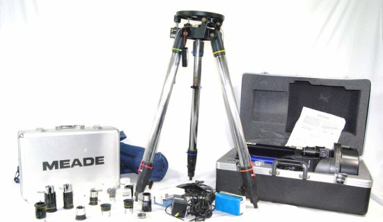 Meade Astronomical Telescope ETX-125EC w/ Lens, Tripod, & Accessories
