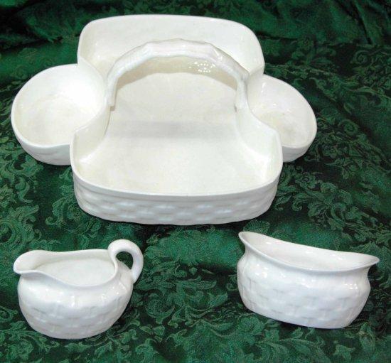 Tiffany & Co. Porcelain China Tea & Toast Basket, Hamersley & Co.