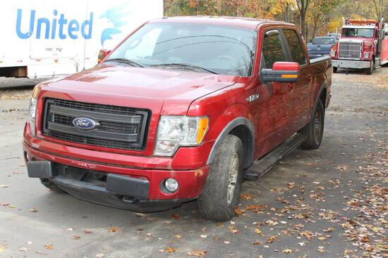 2013 Ford F-150 XLT 4WD V8
