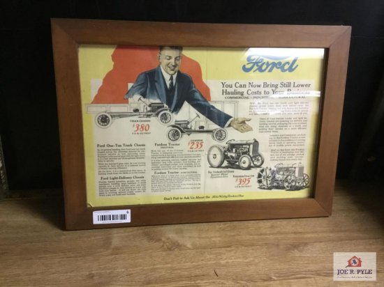 Ford Agricultural Commercial Industrial Advertising Sign