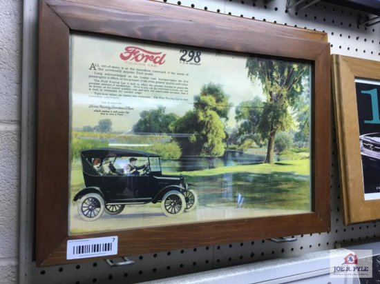 """Ford Touring Car Advertising (16.75 x 11"""")"""