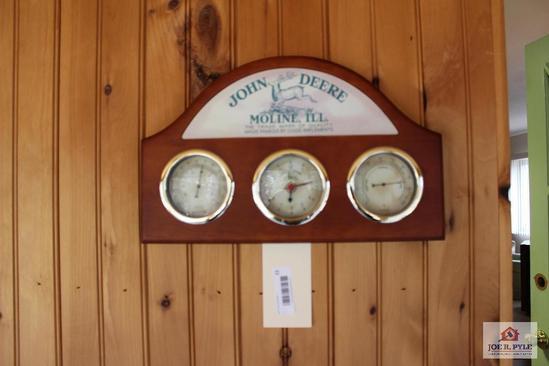 John Deere weather gauges