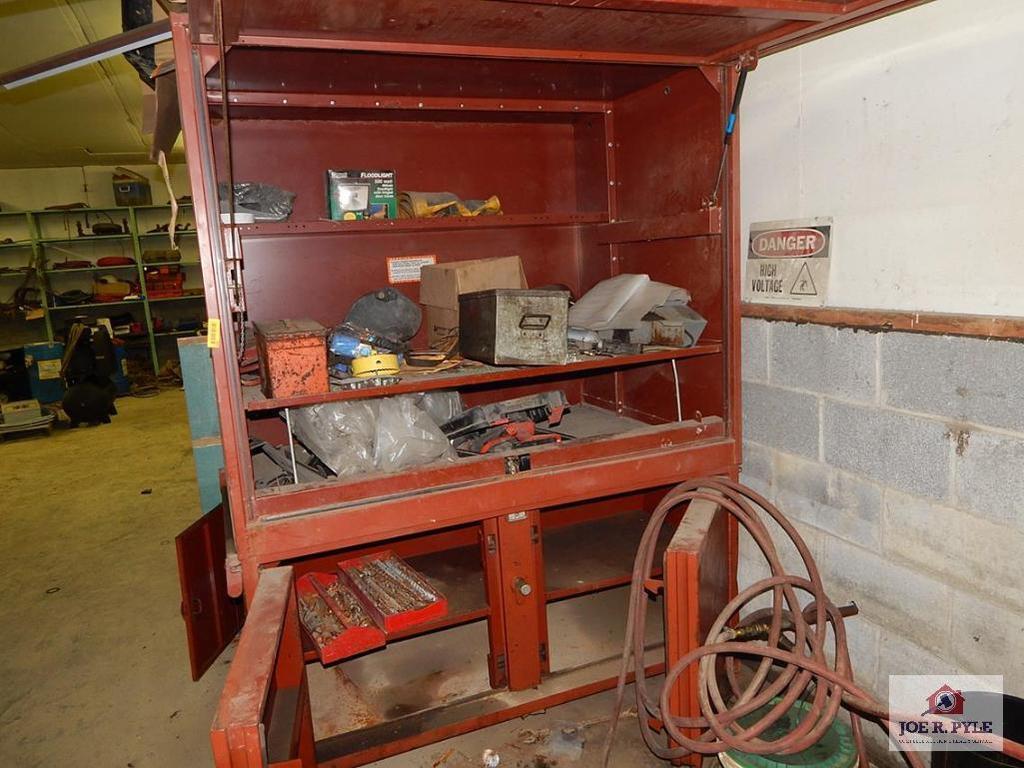 6 foot job box with underneath storage
