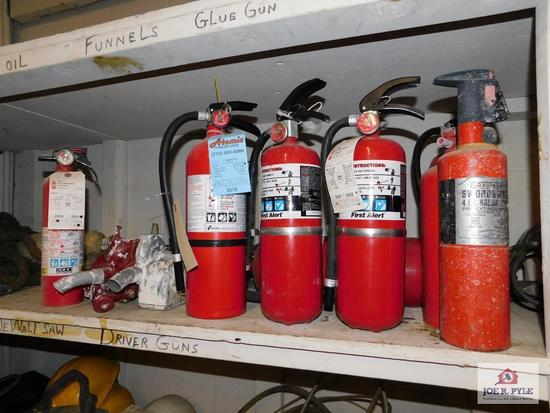 One Lot of Fire Extinguishers