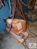 Power Profile Air Hog Wheel Barrow Style Air Compressor