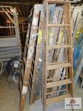 6' Wooden Step Ladder