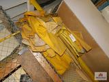 One lot of Yellow Rain Suits and Boots