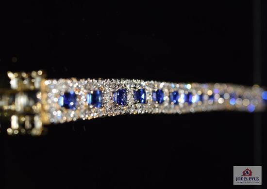 Lady's Tanzanite bracelet