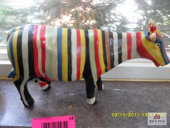 Multicolored cow