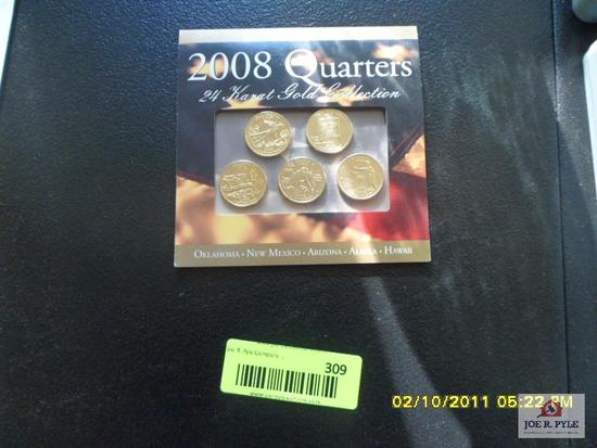 2008 quarter collection