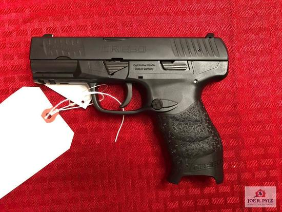 CARL WALTHER CREED 9MM | SN: FCH7164 |COMMENTS: ANIB