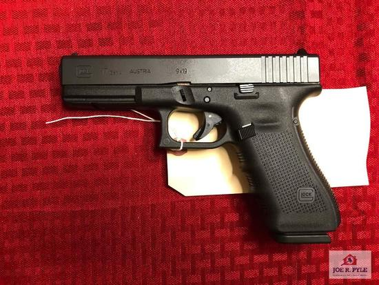 GLOCK 17 GEN 4 9MM | SN: BCPT524 |COMMENTS: ANIB