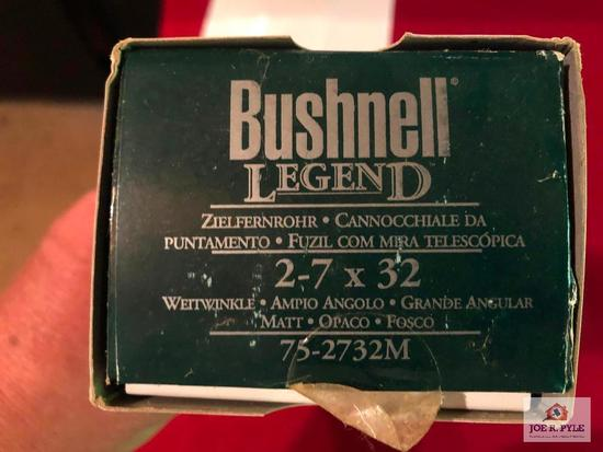 BUSHNELL LEGEND 2-7X32MM NIB