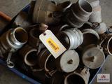 Lot of water hose fittings