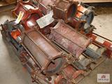 Lot of high pressure pipe couplers
