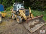 1994 Caterpillar 416B rubber tired back hoe loader 8SG05410 4X4 6358 Hours