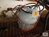 Propane tank and 2 burners